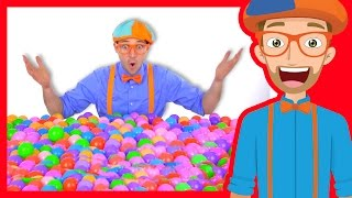 Video Learn Colors of Machines with Blippi | Colorful Balls MP3, 3GP, MP4, WEBM, AVI, FLV April 2019
