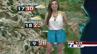 Prissila Sanchez Beautiful Mexican Tv Presenter 29.03.2013