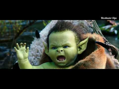 "Warcraft  -  ""  Baby Growls climax Ending Scene "" Hd"