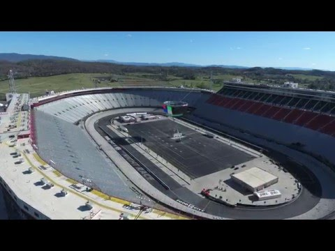 Aerial Drone Footage of Bristol Motor Speedway