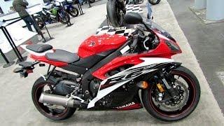 10. 2014 Yamaha YZF-R6 Walkaround - 2013 NY Motorcycle Show