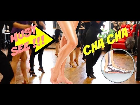 DANCE CORNER WITH ANNA KOVALOVA (CHA CHA FOOTWORK & KNEE ACTIONS)