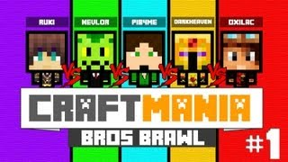 Video [Minecraft] CratfMania Bros Brawl EP.1 bouffe mon poing !!! MP3, 3GP, MP4, WEBM, AVI, FLV Mei 2017