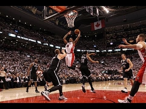 home - Raptors highlights: http://www.nba.com/video/raptors DeMar DeRozan drives and punishes the rim with the one-handed smash. Visit nba.com/video for more highlights. About the NBA: The NBA...