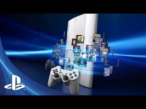 Classic White PS3 Instant Game Collection Bundle Has 1-Year PS Plus Subscription