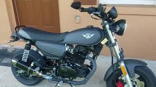 3. Kymco Spade 150cc mods
