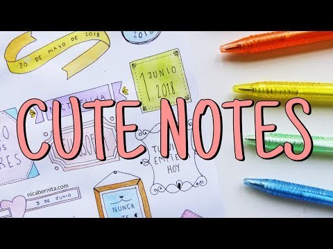 CUTE NOTES 🎨 TITLES, HEADERS & BANNERS 📚 COOL WAYS TO WRITE TITLES
