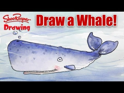 How to Draw and Paint a Wildly Wonderful Whale