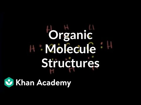 Representing structures of organic molecules