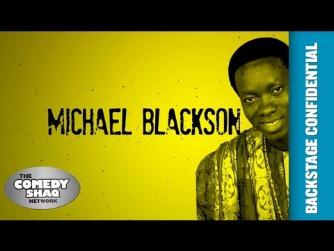 Michael Blackson⎢Backstage Confidential Up Close and Personal⎢Episode 5⎢Comedy Shaq