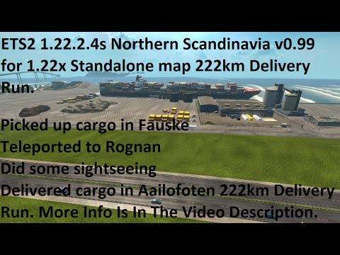 Northern Scandinavia v0.99 for 1.22.x (standalone)
