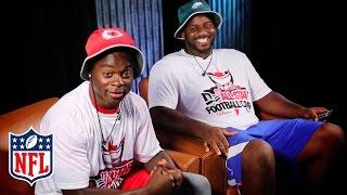 Jeremy Maclin & Fletcher Cox Break Down Film   The Sessions   NFL by NFL