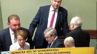 Minister Szumowski pijany w sejmie?