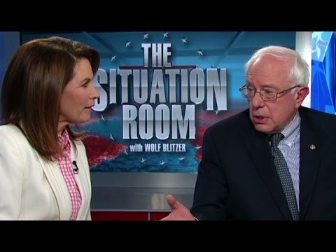 bachman - Congresswoman Michelle Bachman and Sen. Bernie Sanders debate the topic of income inequality in the U.S. More from CNN at http://www.cnn.com/ To license vide...