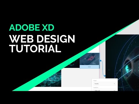 Adobe XD Web Design Tutorial