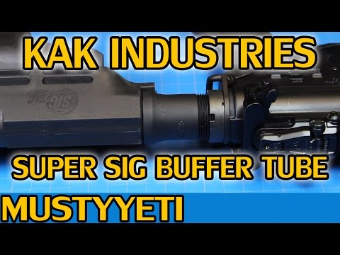 mustyyeti - In this video I'm covering the KAK Industries Super Sig Buffer Tube. I'm sure most of you are hesitant to purchase this like I was, but it truly is the best ...