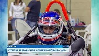 Jovem de Marília apaixonado por velocidade vai estrear na Fórmula 1600