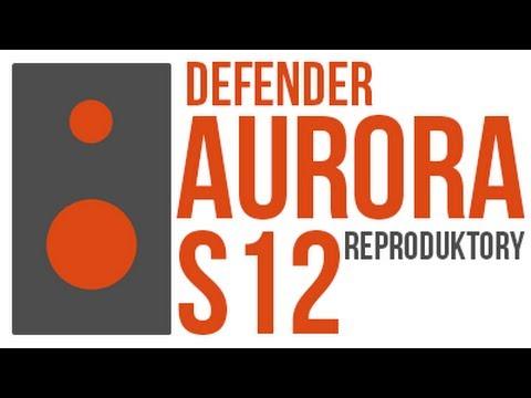 Recenze Reproduktorů Defender Aurora S12!