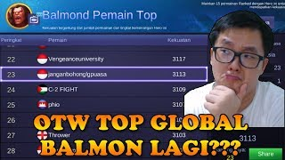 Video OTW TOP GLOBAL BALMON 1 LAGI? MP3, 3GP, MP4, WEBM, AVI, FLV September 2018
