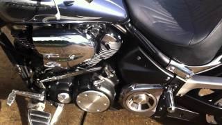 6. 2008 Yamaha Warrior 1600cc cruiser.
