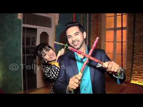 Sheena Bajaj and Ankit Bathla aka Aditi and Dhruv