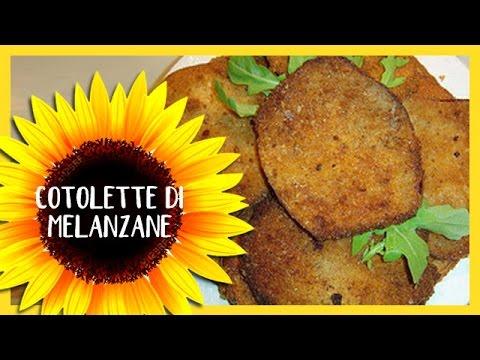 cotolette di melanzane: ricetta vegetariana