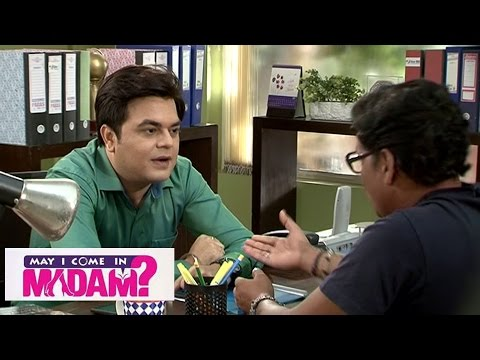 May I Come In Madam | Sajan Takes Cheda's Help To