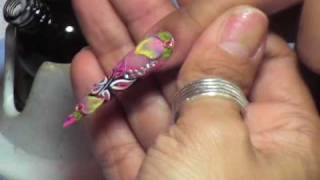 """http://www.nailsforyou.com.mx Paso a paso del terminado final del diseño """"Sweet Butterfly"""" impartido por América García. Materiales empleados; Finish Gel Organic, Protein Bond, Lampara UV."""