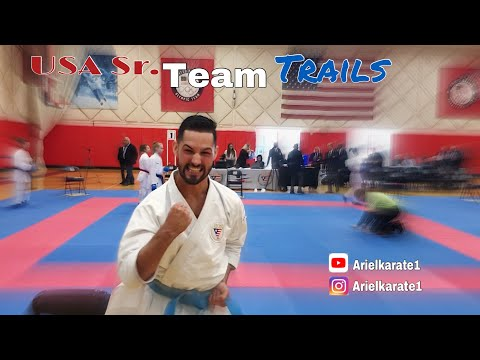 2019 Sr. National Team Trials - Ariel Torres Karate Vlog
