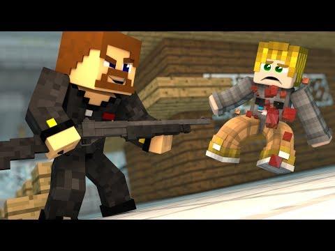 ГОЛОДНЫЕ ИГРЫ С ОРУЖИЕМ - Minecraft Battlegrounds