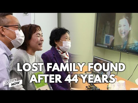 Korean adoptee in U.S. finds her long lost birth family after 44 years