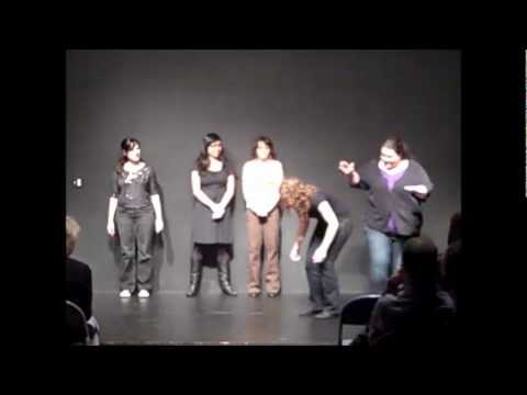 Pan Theater Improv Comedy Shows: Awkward Face Girls Night Aug 27, 2011