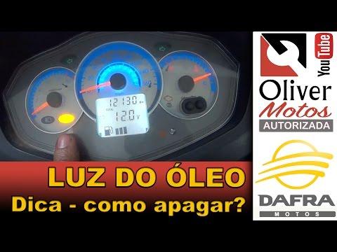 Como apagar a luz de óleo da Citycom S #DICA