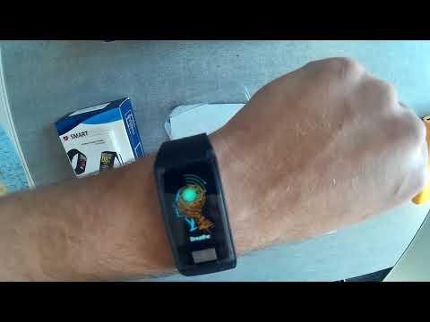 D58 Okoskarkötő Vérnyomásmérő, Pulzusmérő és EKG teszt és bemutató magyarul - Smartos hu