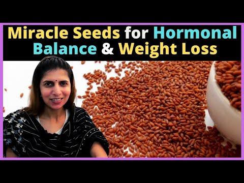Miracle Seeds For Hormonal Balance, Weight Loss   Garden Cress / Halim Seeds or Aliv Seeds   Hindi