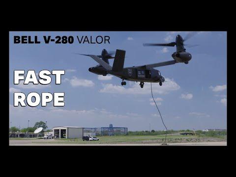 Испытательный полет новейшего американского конвертоплана Bell V-280 Valor