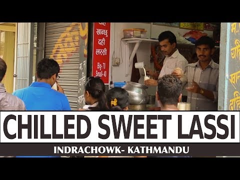 (Special Lassi of Indrachowk Kathmandu - Food Nepal - Duration: 2 minutes, 31 seconds.)