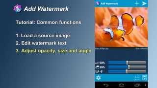 Add Watermark Free YouTube video