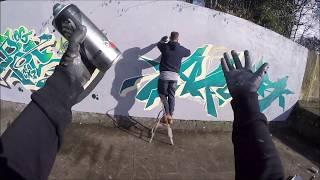 Graffiti - Ghost & Osek EA - Emerald