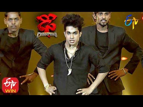 Jatin Performance | Dhee Champions | 23rd September 2020  | ETV Telugu