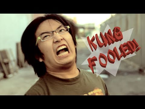wong - BEHIND THE SCENES & OUTTAKES: http://wongfuproductions.com/2011/05/new-short-kung-fooled/ Written, Directed, Produced by Wong Fu Productions Special thanks C...