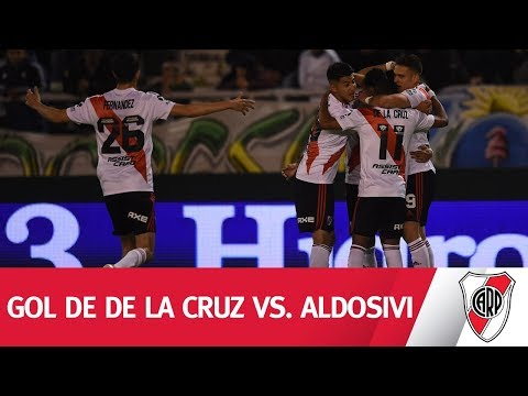 ¡PASE, PASE Y GOL! Mirá el gol de De La Cruz vs. Aldosivi