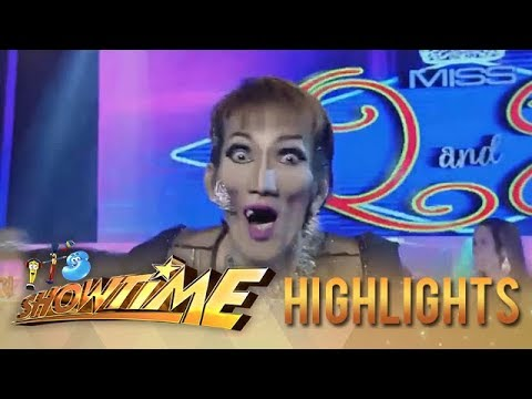 It's Showtime Miss Q and A: Anne gets scared of Candidate no. 3