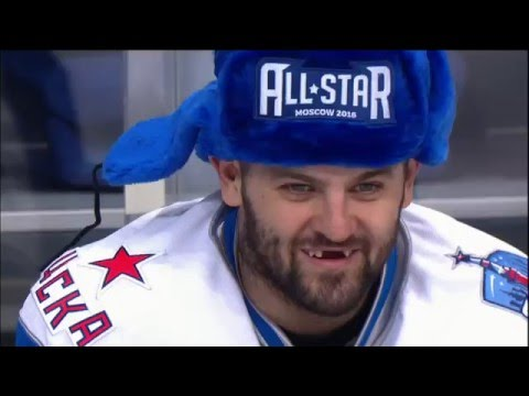 KHL All Star Game 2016: Fastest skater team relay (видео)