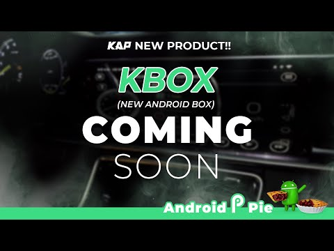 New Android box coming soon ! (KBOX / Android 9)