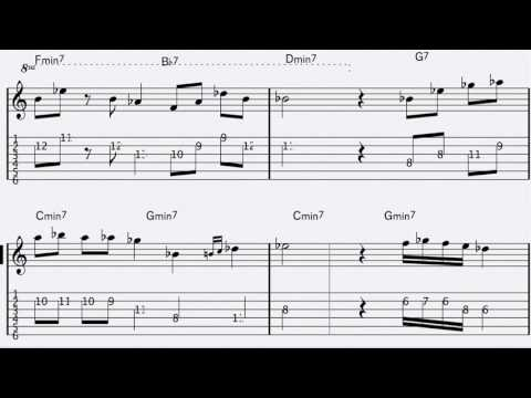How to Play Take Five on Guitar. Take Five Dave Brubeck Guitar ...