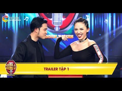Trailer tập 1 Giọng ải giọng ai ngày 5/11/2016