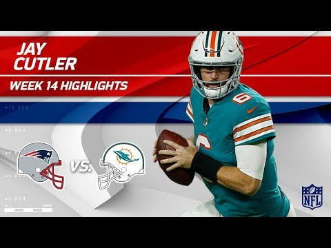 Jay Cutler Gets the Win w/ 3 TDs & 263 Yards! | Patriots vs. Dolphins | Wk 14 Player Highlights