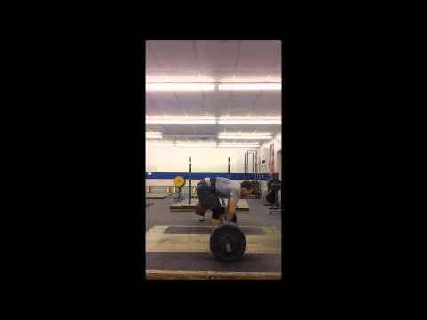 Clean 125kg (275lbs)