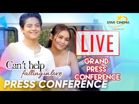 [LIVE] 'Can't Help Falling in Love' Grand Press Conference (видео)
